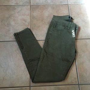 Forever 21 green pants size 24